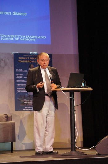 Robert Gallo, Director, Institute of Human Virology and Scientific Director, Global Virus Network